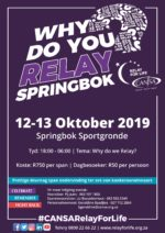 CANSA Relay For Life Springbok