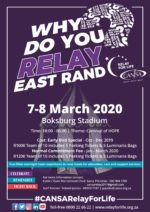 CANSA Relay For Life East Rand