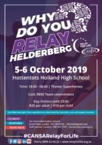 CANSA Relay For Life Helderberg