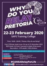 CANSA Relay For Life Pretoria