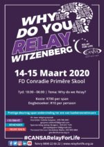 CANSA Relay For Life Witzenberg