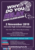 CANSA Relay For Like Klerksdorp | KOSH