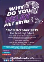 CANSA Relay For Life Piet Retief