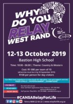 CANSA Relay For Life West Rand